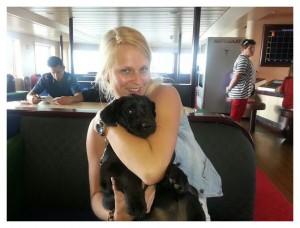 puppy Kira en Ymke